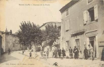 """CPA FRANCE 30 """" Tavel, Bureau de la Poste""""."""