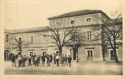 """CPA FRANCE 30 """" Uzès, Intérieur du collège""""."""