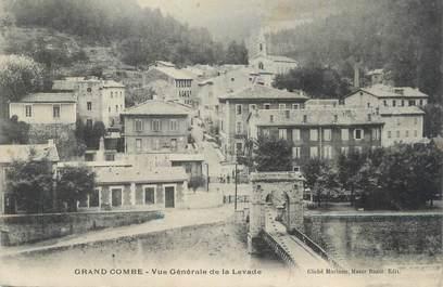 "CPA FRANCE 30 "" La Grand Combe, Vue générale de la Levade""."