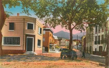 "CPA FRANCE 59 "" Collioure, Avenue de la Poste""."