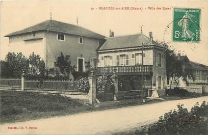 """CPA FRANCE 55 """"Beauzée sur Aire, Villa des Roses"""""""