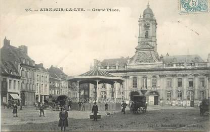 """CPA FRANCE 62 """"Aire sur la Lys, Grand'Place"""""""