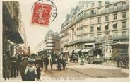 """75 Pari CPA FRANCE 75 """" Paris 9ème, La rue Lafayette""""."""
