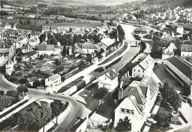 """CPSM FRANCE 21 """" Montbard, Le canal de Bourgogne""""."""