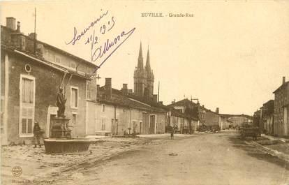 "CPA FRANCE 55 ""Euville, Grande Rue"""