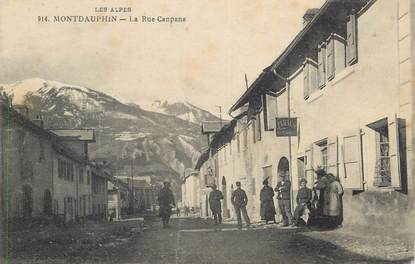 "CPA FRANCE 05 ""Montdauphin, La rue Canpana""."