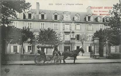 """CPA FRANCE 03 """" Vichy, L'hôpital militaire""""."""