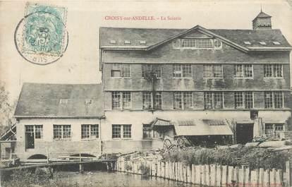 "CPA FRANCE 27 "" Croisy sur Andelle, La scierie""."