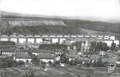"""CPSM FRANCE 57 """" Florange, Les usines Sollac""""."""
