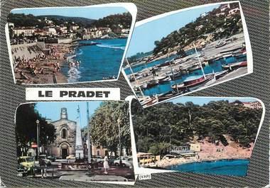 """CPSM FRANCE 83 """" Le Pradet, Vues""""."""