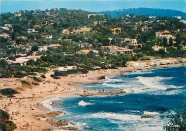 """CPSM FRANCE 83 """" Ramatuelle, La plage de l'Escalet""""."""