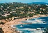 """83 Var CPSM FRANCE 83 """" Ramatuelle, La plage de l'Escalet""""."""