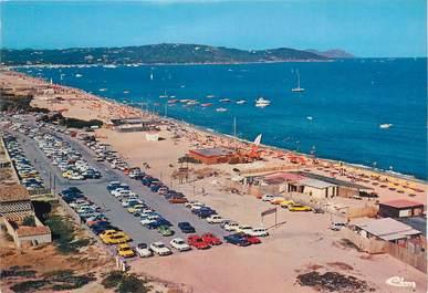"""CPSM FRANCE 83 """" Ramatuelle, La plage de Pampelonne""""."""