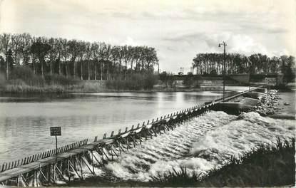 """CPSM FRANCE 21 """"Auxonne Barrage sur la Saône""""."""