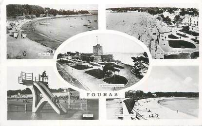 """CPSM FRANCE 17 """" Fouras, Vues""""."""