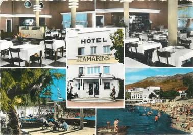 """CPSM FRANCE 66 """"Port Vendres, Hôtel restaurant Les Tamarins""""."""