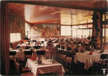 """CPSM FRANCE 34 """" St Guilhem le Désert, Hôtel restaurant Fonzes""""."""