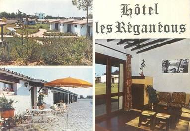 """CPSM FRANCE 34 """" Lattes, Hôtel Les Reganeous""""."""