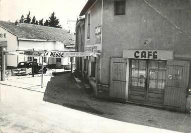 """CPSM FRANCE 30 """"Sauveterre, Café restaurant Verdier""""."""