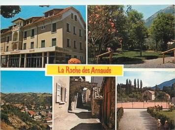 """CPSM FRANCE 05 """" La Roche des Arnauds, Hôtel Ceuse""""."""