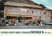 """05 Haute Alpe CPSM FRANCE 05 """"Briancon, Hôtel des 3 Chamois""""."""