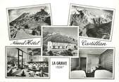 """05 Haute Alpe CPSM FRANCE 05 """"La Grave, Nouvel Hôtel Castillan""""."""