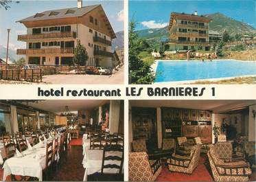 "CPSM FRANCE 05 ""Guillestre, Hôtel restaurant Les Barnières""."