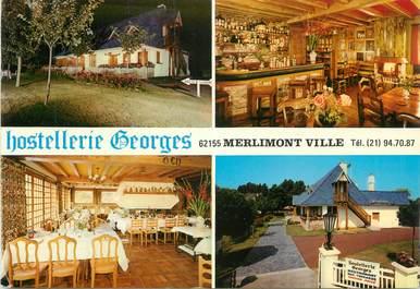 "CPSM FRANCE 62 "" Merlimont Ville, Hostellerie Georges""."