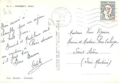 Cpsm france 60 chambly vues 60 oise autres for Liste communes oise