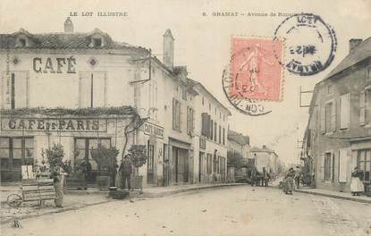"CPA FRANCE 46 "" Gramat, Avenue de Rocamadour""."