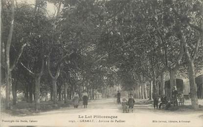 "CPA FRANCE 46 "" Gramat, Avenue de Padirac""."
