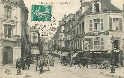 """CPA FRANCE 41 """"Blois, la rue Denis Papin"""""""