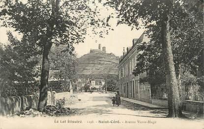 """CPA FRANCE 46 """"St Céré, Avenue Victor Hugo""""."""