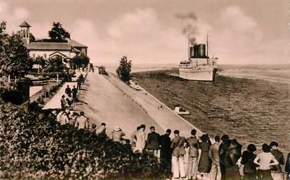 """CPSM EGYPTE """"Le canal de Suez"""""""