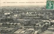 """02 Aisne CPA FRANCE 02 """"Saint Quentin, Faubourg d'Isle, Eglise Saint Eloi"""""""