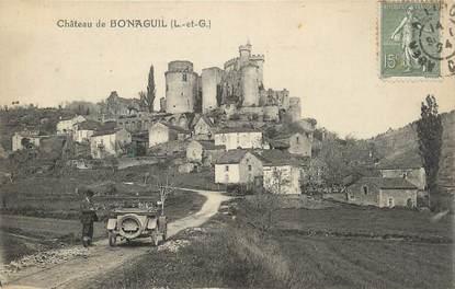 """CPA FRANCE 47 """"Bonaguil, Le château""""."""