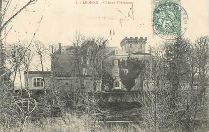 """CPA FRANCE 47 """"Andiran, Château d'Hordosse""""."""