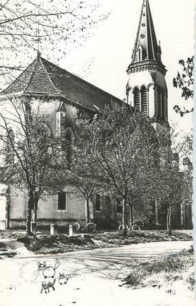 """CPSM FRANCE 47 """"Barbaste, L'église""""."""