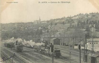 """CPA FRANCE 47 """"Agen, Coteau de l'Hermitage""""."""