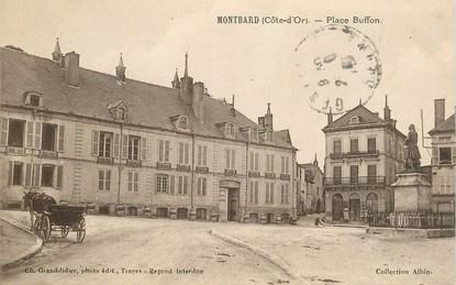 "CPA FRANCE 21 ""Montbard, Place buffon"""