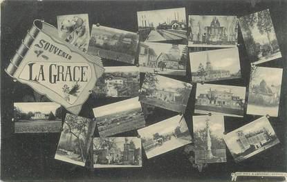 """CPA FRANCE 47 """" La Grace, Vues""""."""