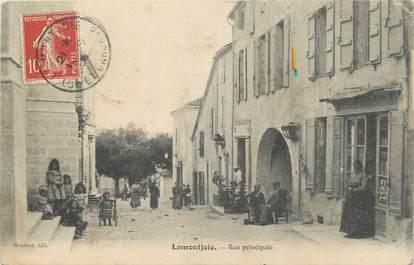 "CPA FRANCE 47 "" Lamontjoie, Rue principale""."