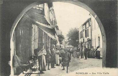 "CPA FRANCE 47 "" Monclar, Rue Ville Vieille""."