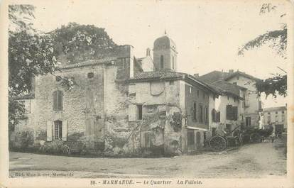 "CPA FRANCE 47 "" Marmande, Quartier de la Fillole""."