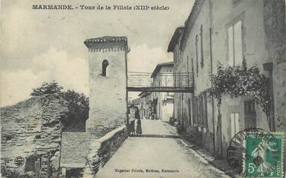 "CPA FRANCE 47 "" Marmande, Tour de la Fillole""."