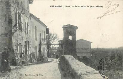 "CPA FRANCE 47 "" Marmande, Tour Henri IV""."