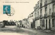 """44 Loire Atlantique CPA FRANCE 44 """"Ancenis, Place Saint Pierre et rue Saint Paul"""""""