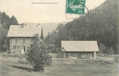 """CPA FRANCE 90 """" Rosemont, Maison forestière""""."""