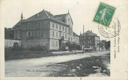 """CPA FRANCE 90 """" Delle, Ancien collège des bénédictins""""."""