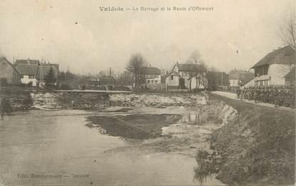 """CPA FRANCE 90 """" Valdoie, Le barrage et la route d'Offemont""""."""